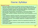 course syllabus4
