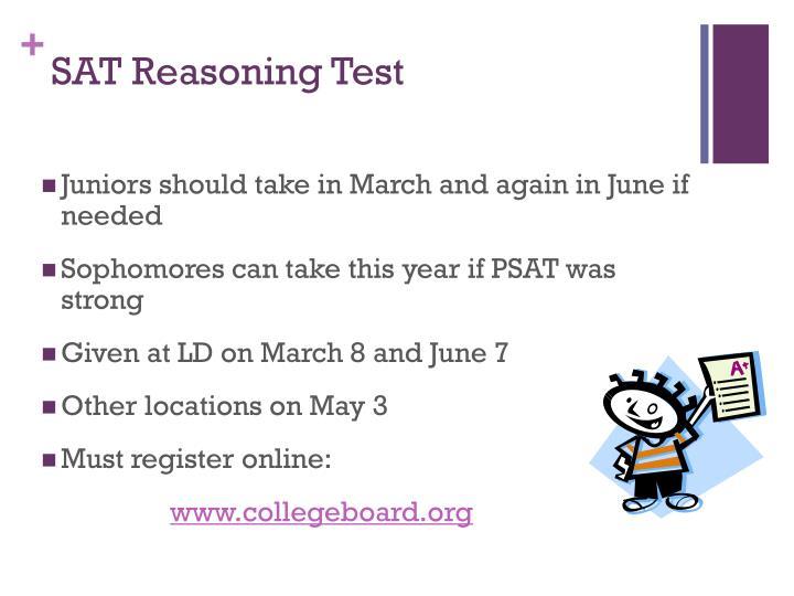 SAT Reasoning Test