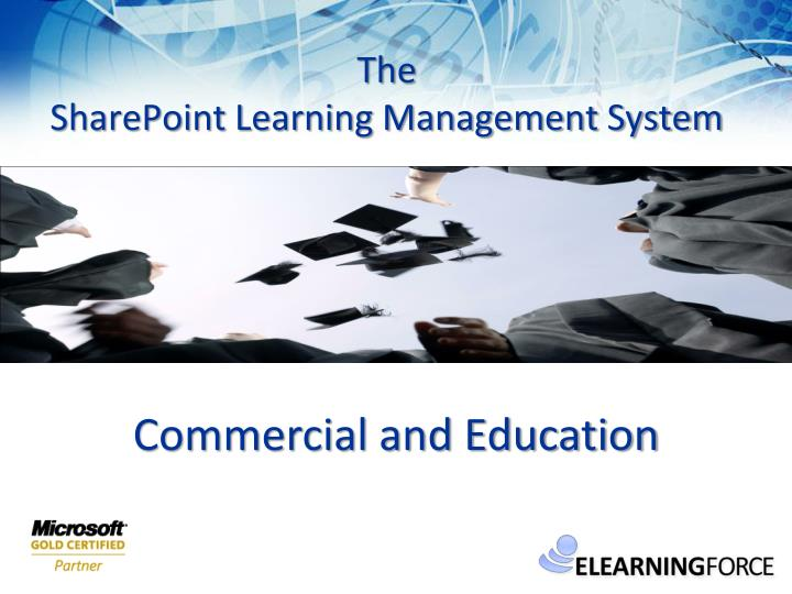 the sharepoint learning management system n.