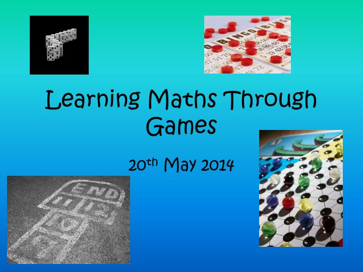 learning maths through games n.