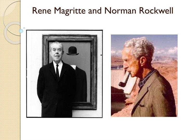 rene magritte and norman rockwell n.