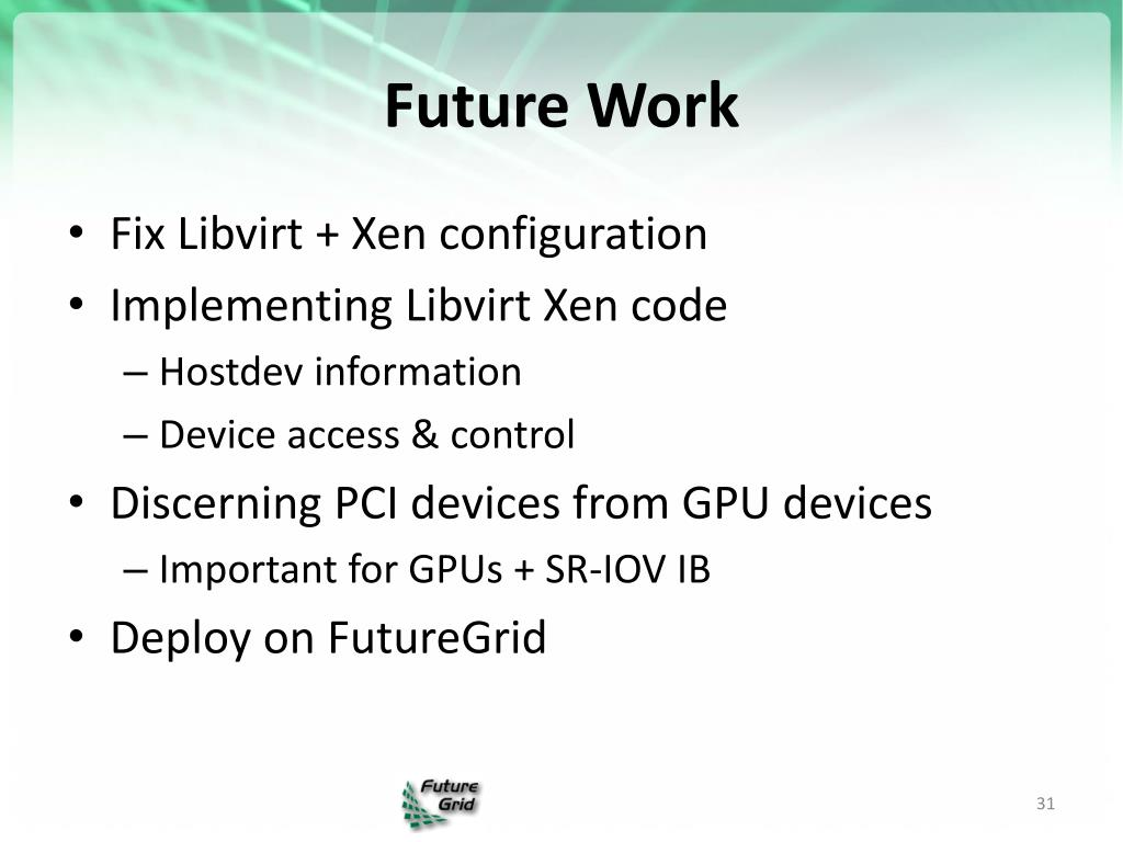 PPT - The State of Cloud Computing in Distributed Systems