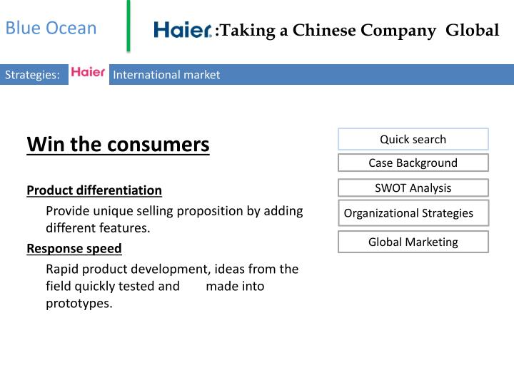 haier taking a chinese company global in 2011