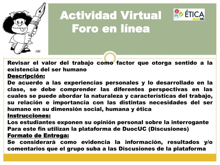 Actividad Virtual