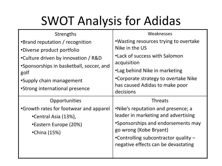 swot analysis on wilson sporting goods company Company overview 2 key information 2 key financials 2 key people 3 company description 4 industry information 5  hoover's company profile report .