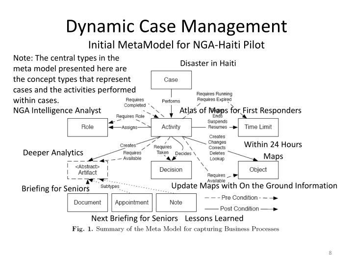 Dynamic Case Management