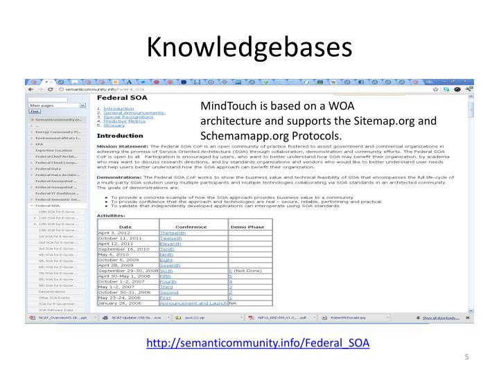 Knowledgebases