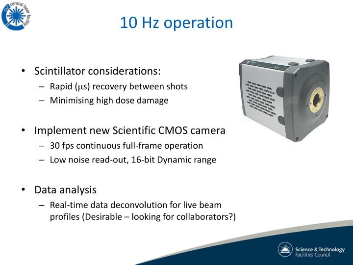 10 Hz operation