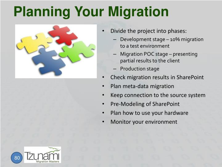 Planning Your Migration
