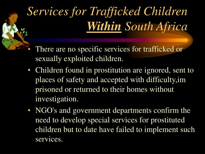 Services for Trafficked Children