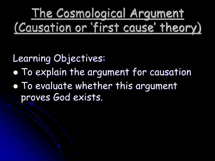 an analysis of the topic of an argument of the existence of a god Philosophy essay topics: descartian argument, supporting the existence of god descartes, famous for his achievements in mathematics and philosophy, develops a number of perspectives like those on pure knowledge, human perception and the perfect essence.
