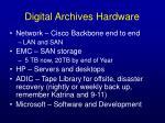 digital archives hardware