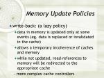 memory update policies1