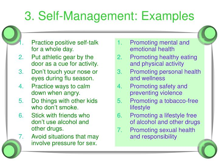 Promoting mental and emotional health
