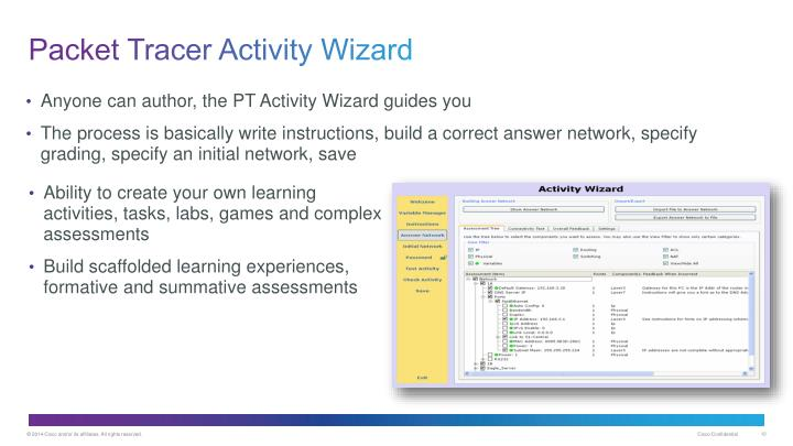 packet tracer activity wizard advanced tutorial