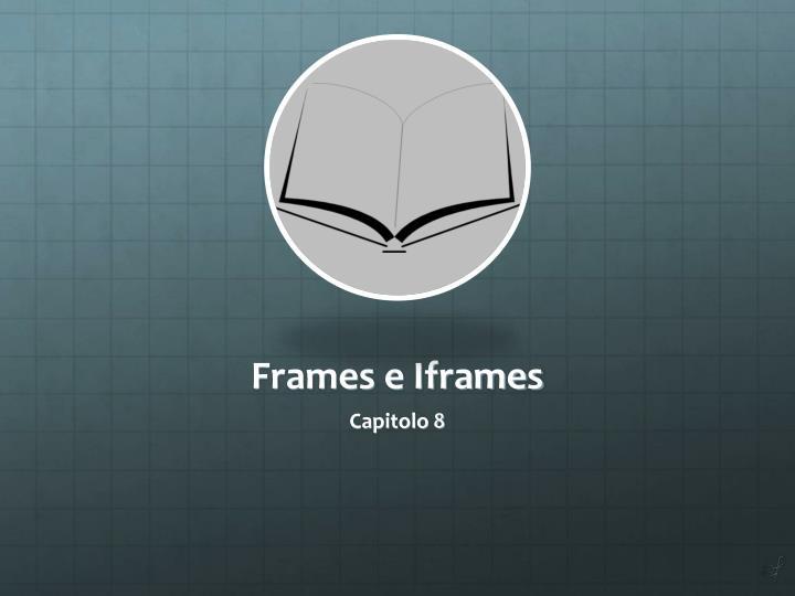 Frames e Iframes
