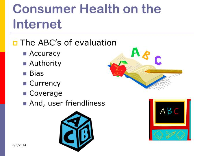 Consumer Health on the Internet