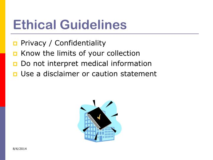 Ethical Guidelines