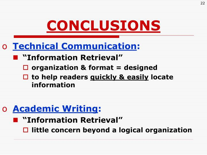 Technical writing help process ppt
