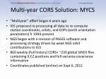 multi year cors solution mycs