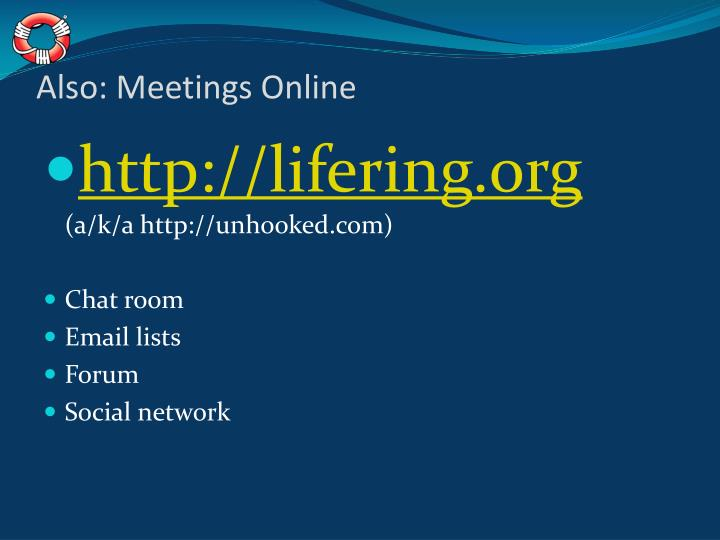 Also: Meetings Online