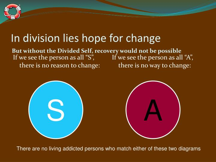 In division lies hope for change
