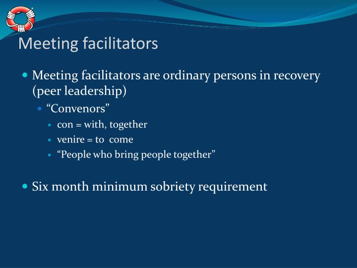 Meeting facilitators