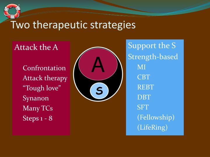 Two therapeutic strategies