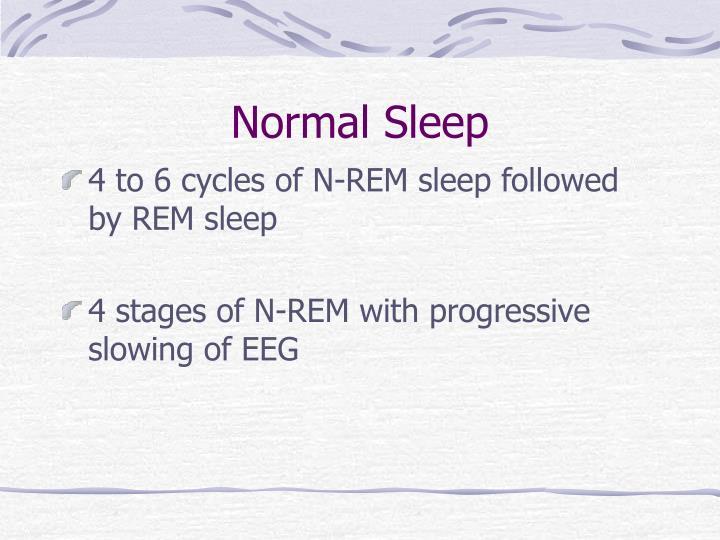 Normal Sleep