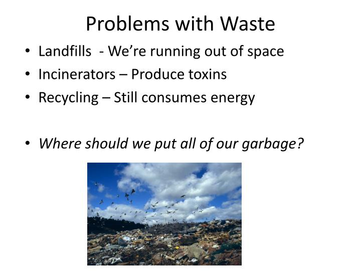 problems with waste