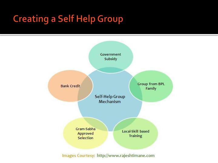 evaluation of self help group Self-help support groups like most any other problem in life, it can help a lot to talk to people who know exactly what you're dealing with because they've been there, too.