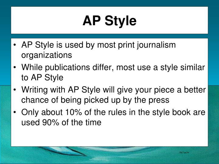 ppt  grammar clarity and ap style powerpoint