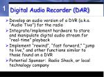 digital audio recorder dar