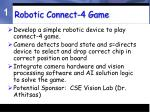 robotic connect 4 game