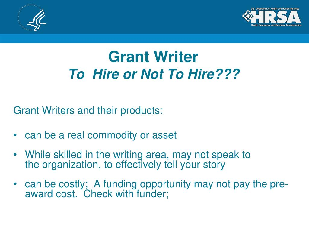 PPT - Tips For Writing & Submitting Good Grant Proposals