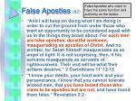 false apostles 2
