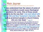 rick joyner http www faithissues ca articles the call by rick joyner htm