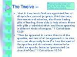 the twelve 3