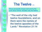 the twelve 6