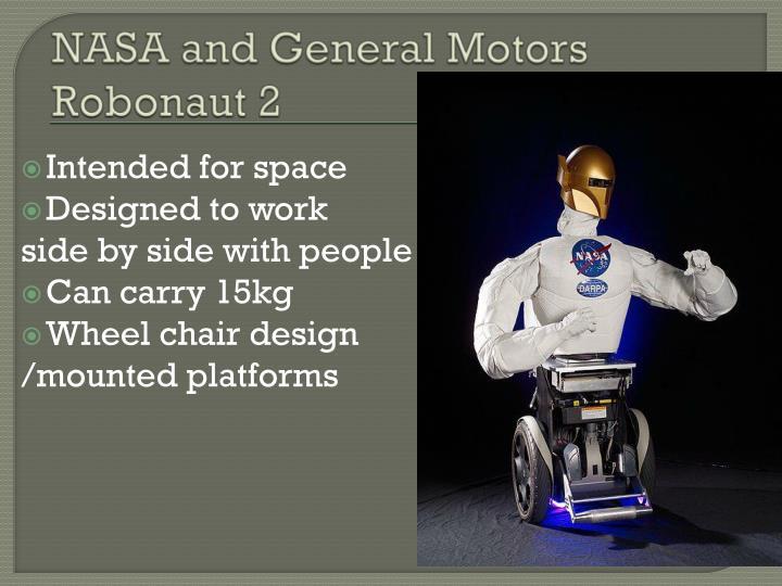 NASA and General Motors