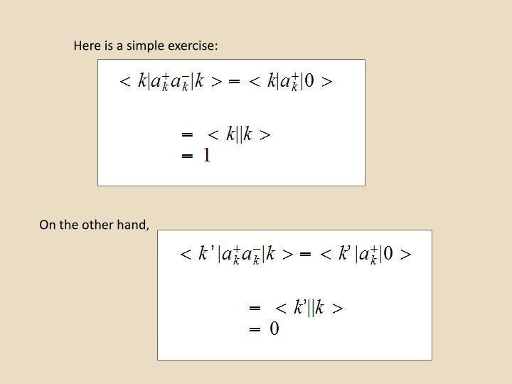 Here is a simple exercise: