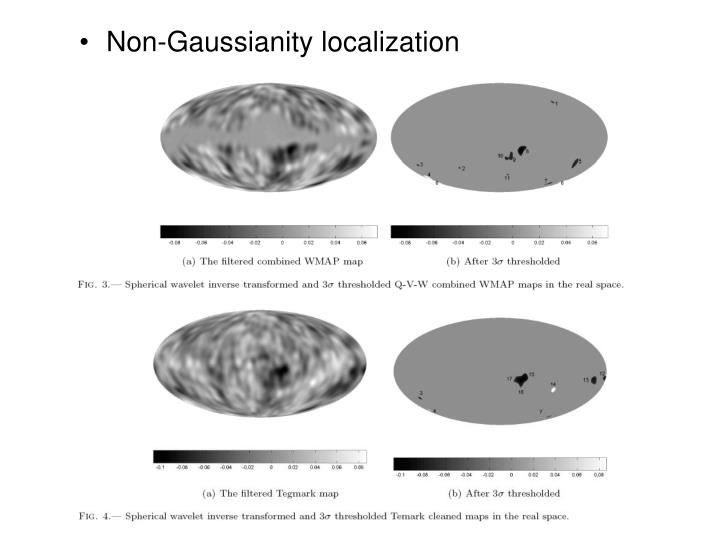 Non-Gaussianity localization