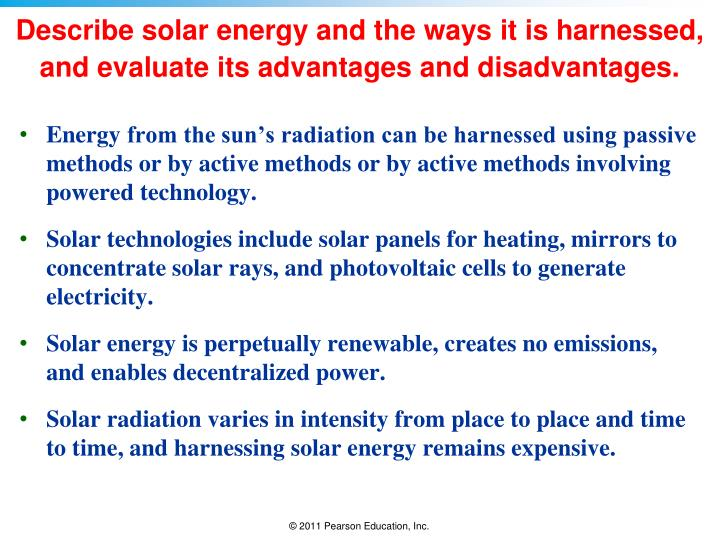 science its advantages and disadvantages Sources of energy: advantages and disadvantages year 9 energy study play fossil fuels advantages: 1 provides a large amount of energy 2.