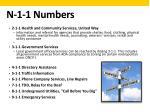 n 1 1 numbers