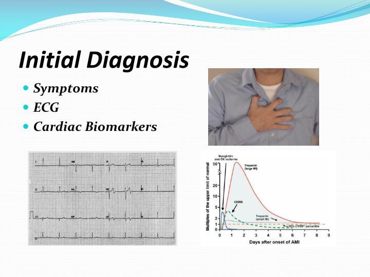 Initial diagnosis
