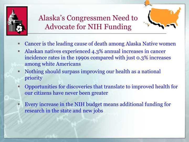 Alaska's Congressmen Need to Advocate for NIH Funding