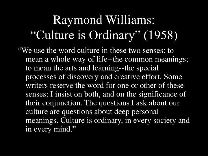 williams culture