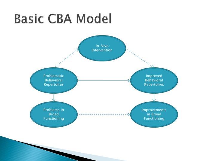 Basic CBA Model