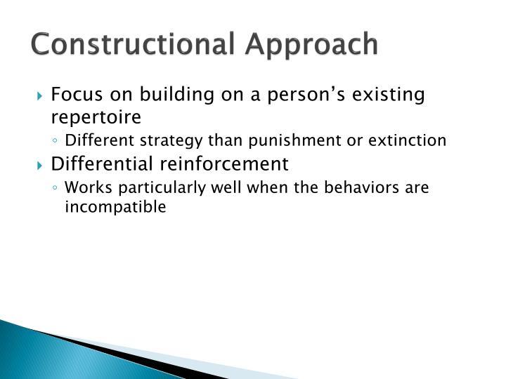 Constructional Approach