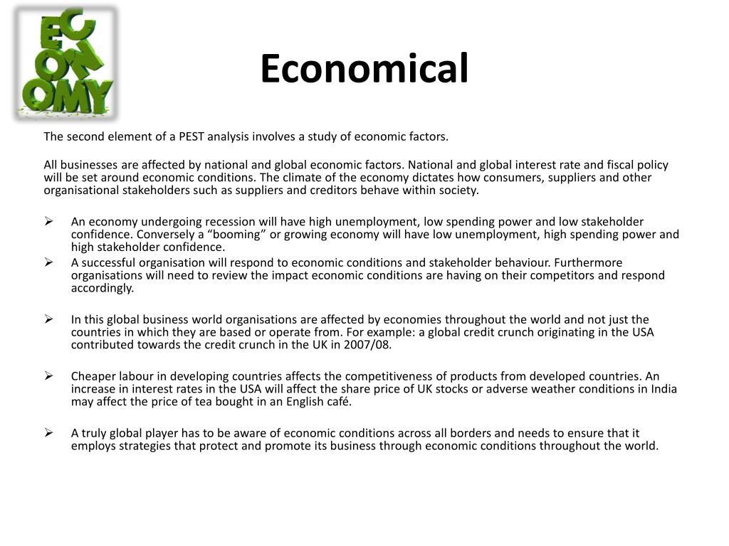 PPT - PEST analysis PowerPoint Presentation - ID:2939187